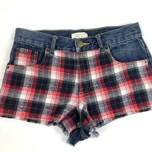 Plaid Short Shorts
